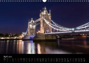 London 2015 (Wall Calendar 2015 DIN A3 Landscape)