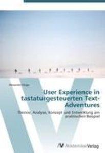 User Experience in tastaturgesteuerten Text-Adventures