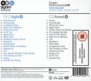 Right Here,Right Now-Sight & Sound