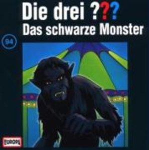 Die drei ??? 094. Das schwarze Monster. (drei Fragezeichen). CD