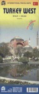 Turkey West Travel Map 1 : 550 000
