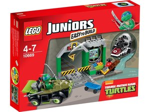 LEGO® Juniors 10669 - Turtle Versteck
