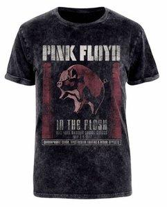 In The Flesh (Acid Wash T-Shirt,Schwarz,M)