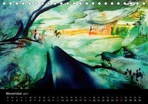 Wachs-Mal-ART encaustic Landschaften