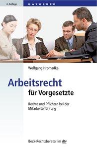 Arbeitsrecht für Vorgesetzte