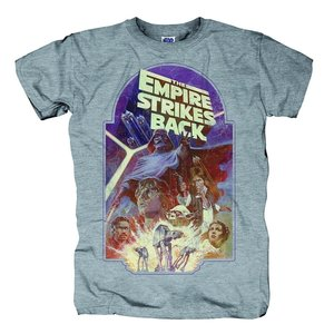 The Empire Strikes Back,T-Shirt,Größe L,Grau Me