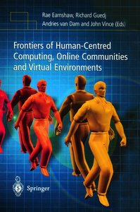 Frontiers of Human-Centred Computing, Online Communities and Vir