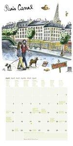 Paris 2017 Mini-Broschürenkalender