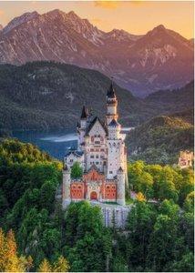 Romantisches Schloss Neuschwanstein. Puzzle