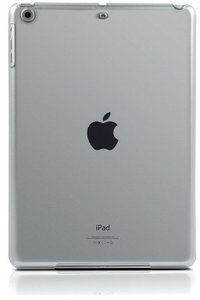 Speedlink VERGE Pure Cover, Hartschale für iPad Air, frosted cle