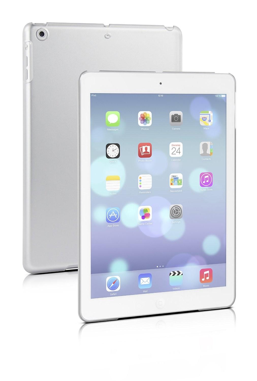 Speedlink VERGE Pure Cover, Hartschale für iPad Air, frosted cle - zum Schließen ins Bild klicken