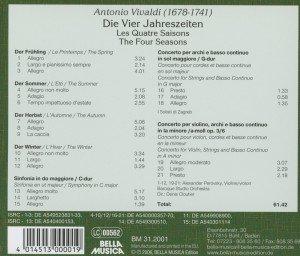 Vivaldi/Die 4 Jahreszeiten