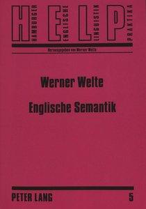 Englische Semantik