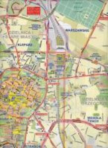 Krakow (Cracow)/Poland City Map 1 : 8 000