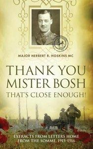 Thank You Mister Bosh, That's Close Enough!