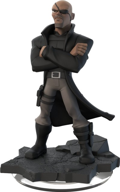 Disney Infinity 2.0 - Figur Nick Fury Marvel Super Heroes (2) - zum Schließen ins Bild klicken