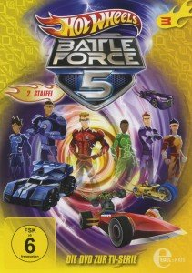 Hot Wheels/Battle Force 5: (3)DVD z TV-Serie