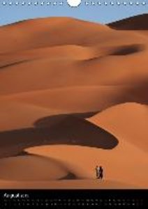 The Sahara in Algeria / UK-Version (Wall Calendar 2015 DIN A4 Po