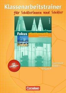 Fokus Mathematik 7. Schuljahr. Gymnasium Ausgabe N. Klassenarbei