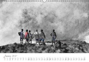 Painterly Beach (Wall Calendar 2015 DIN A3 Landscape)