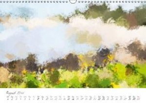 Painterly Beach (Wall Calendar 2015 DIN A3 Landscape)