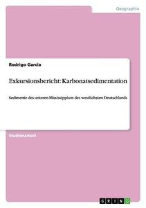 Exkursionsbericht: Karbonatsedimentation