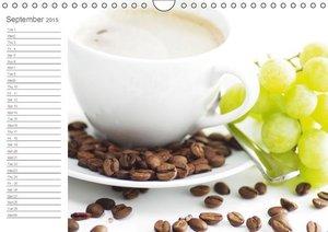 Coffee break schedule (Wall Calendar 2015 DIN A4 Landscape)