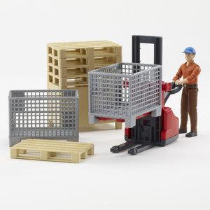 Bruder 62200 - bworld: Logistikset