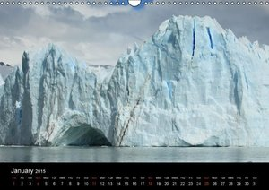 Antarctica (UK - Version) (Wall Calendar 2015 DIN A3 Landscape)