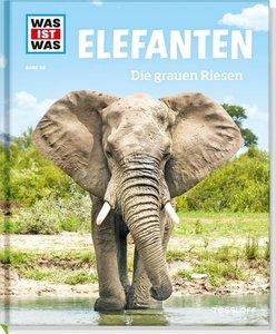 WAS IST WAS Band 86 Elefanten. Die grauen Riesen