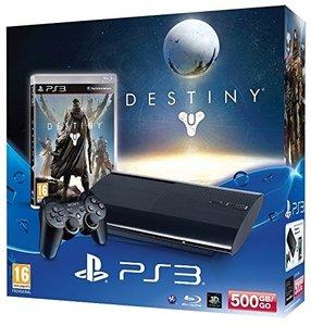 PlayStation 3 Konsole - 500 GB - Schwarz inkl. Destiny