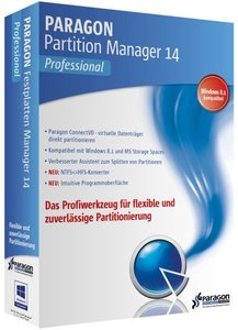 Paragon Partition Manager 14 Professional