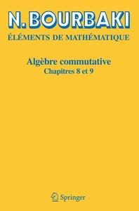 Algèbre commutative 8-9