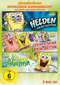 SpongeBob Schwammkopf - Das Beste aus Bikini Bottom (3 Discs)