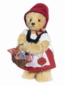 Teddy Hermann 11834 - Teddybär Rotkäppchen, 26 cm