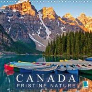 Canada: Pristine nature (Wall Calendar 2015 300 × 300 mm Square)