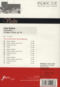 Concertino op. 24, G-Dur
