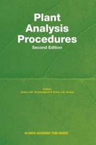 Plant Analysis Procedures