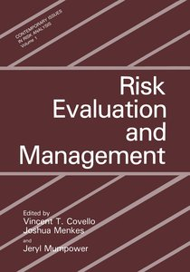 Risk Evaluation and Management
