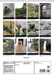Steiniges (Wandkalender 2016 DIN A3 hoch)