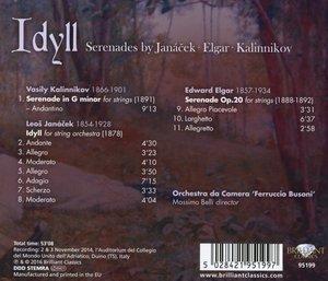 Idyll - Serenades by Janácek, Elgar, Kalinnikov