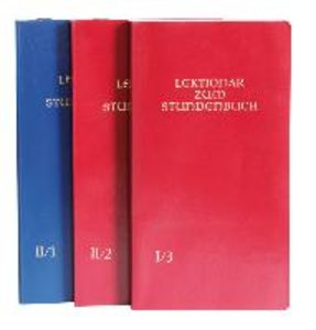 Lektionar zum Stundenbuch I/3 Die Feier des Stundengebetes - Lek