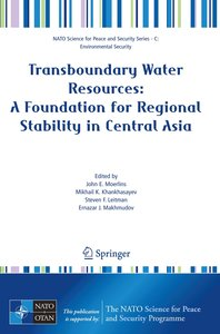 Transboundary Water Resources: A Foundation for Regional Stabili