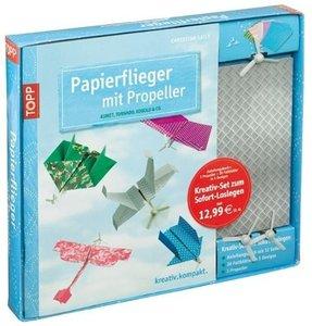 Kreativ-Set: Papierflieger mit Propeller