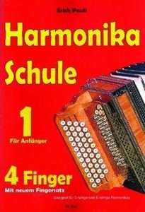 Harmonikaschule für 4 Finger
