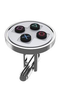 PlayStation - Buttons Manschettenknöpfe/Cufflinks, chrome (Offiz