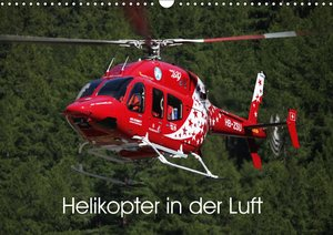 Helikopter in der Luft