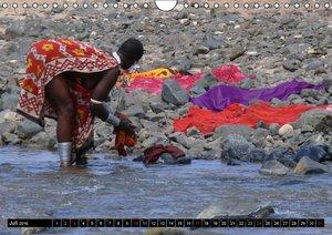 Faszination Afrika: Massai (Wandkalender 2016 DIN A4 quer)