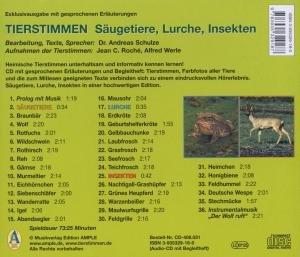Tierstimmen In Mitteleuropa