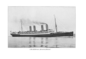 Kronprinz Wilhelm - Der Luxusdampfer als Kaperschiff
